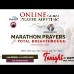 GEN218 ONLINE GLOBAL PRAYER MEETING FOR SINGLES  – NOVEMBER 2019 EDITION