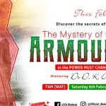 THE MYSTERY OF GOD'S ARMOUR MFM PMCH FEBRUARY 2021 DR D.K. OLUKOYA