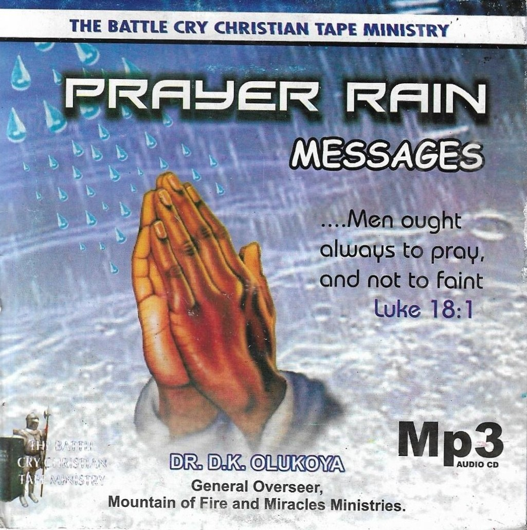 Prayer Rain Messages by D.R D.K Olukoya