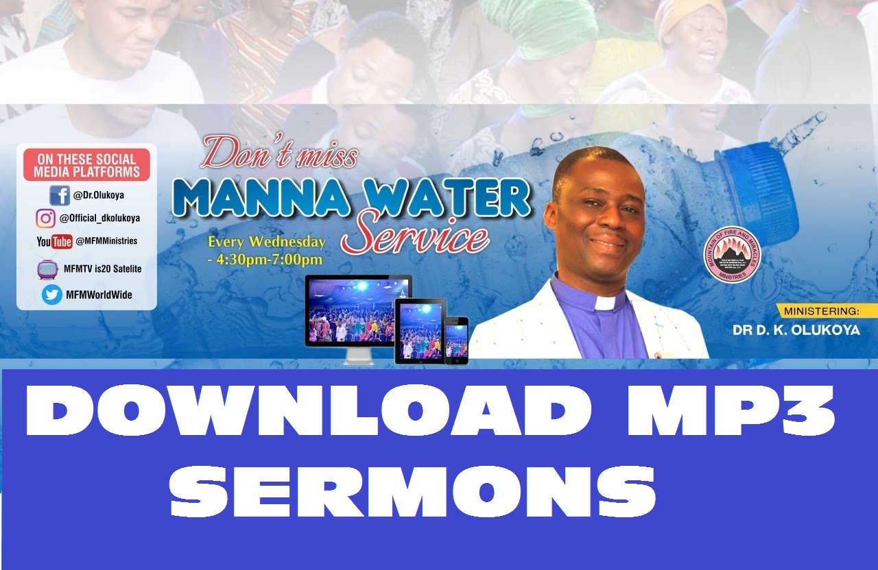 THE CAGE OF FAMILIAR SPIRIT | MFM MANNA WATER SERVICE – 9TH SEPTEMBER 2020
