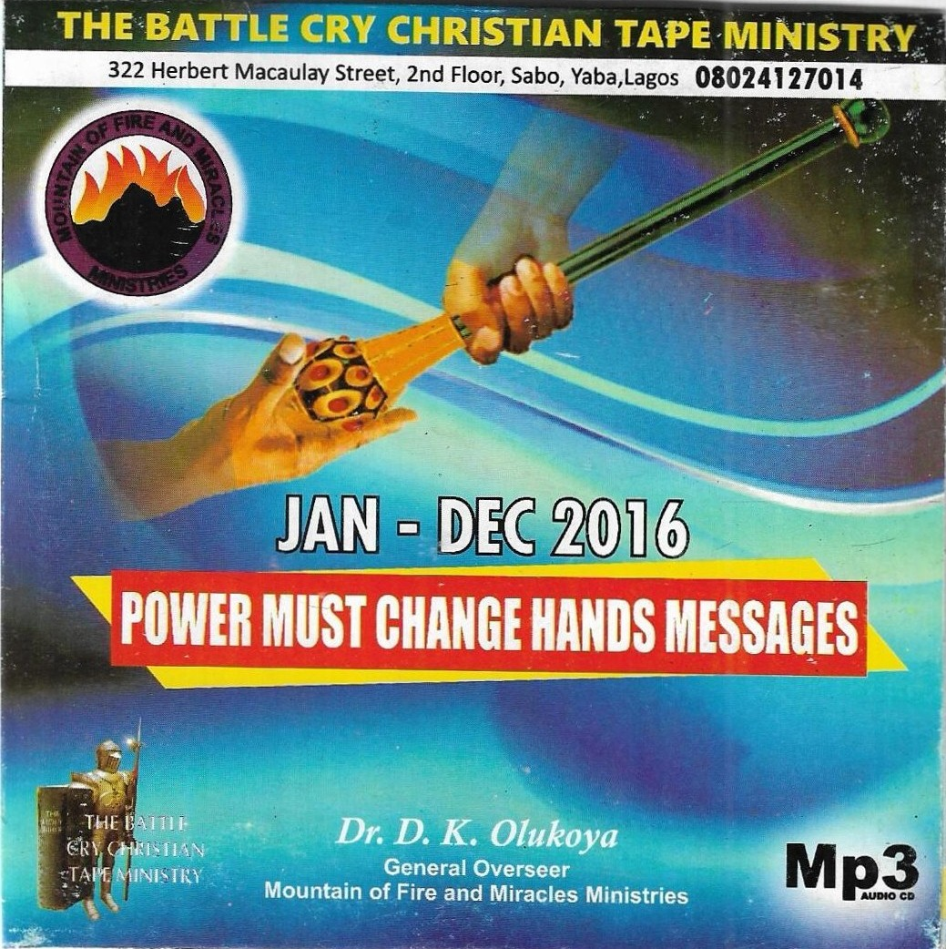 PMCH030916 – The Weapon of the FINGER of GOD